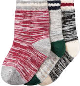 Joe Fresh Baby Boys' 3 Pack Essential Socks, Multi (Size 0-12)