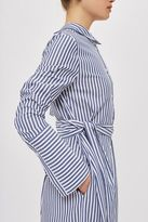 Boutique Stripe shirt dress