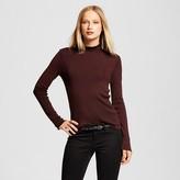 Who What Wear Women's Long Sleeve Ruffle Neck Sweater