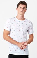 On The Byas Pablo Bird Print T-Shirt