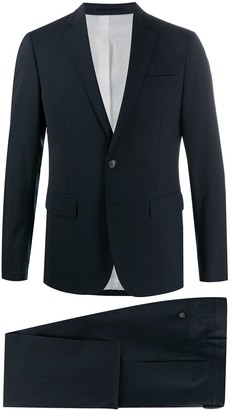 DSQUARED2 Pleat Detail Single-Breasted Suit