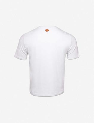 MCM Berlin Bear cotton-jersey T-shirt