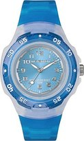 Timex Marathon by Mid-Size Analog Bright Blue Resin Watch #T5K365