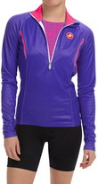 Castelli Cromo Cycling Jersey - Zip Neck, Long Sleeve (For Women)