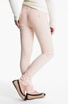 Fire Polka Dot Skinny Jeans (Juniors)