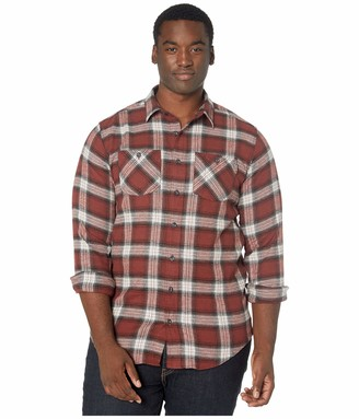 Timberland Men's Woodfort Flex Flannel Work Shirt (Big/Tall)