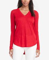 Lauren Ralph Lauren Petite V-Neck Sweater