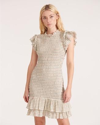 Veronica Beard Cici Smocked Dress
