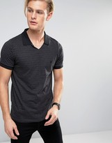 French Connection Open Collar Polo Shirt