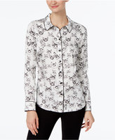INC International Concepts Cat-Print Blouse, Only at Macy's