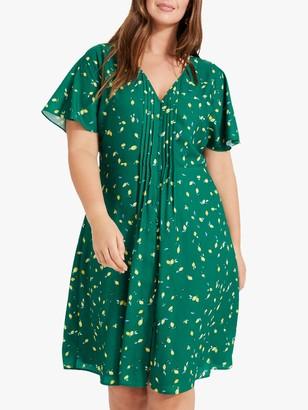 Studio 8 Juliet Lemon Dress, Green Multi
