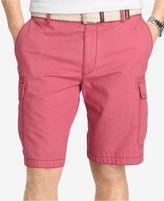 Izod Men's Cotton Seaside Cargo 10.5and#034; Shorts