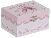 Mele Clarice Girls' Musical Ballerina Jewelry Box-White