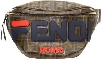 Fendi X Fila FendiMania Brown Cloth Clutch bags