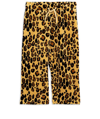 Mini Rodini Velour Leopard Sweatpants