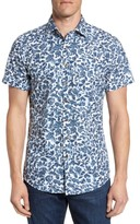Rodd & Gunn Men's Camwell Regular Fit Print Sport Shirt