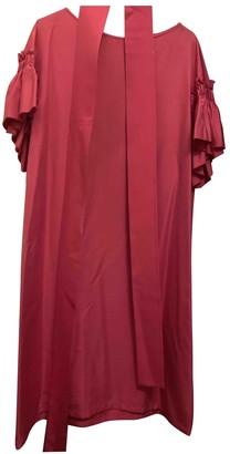 Salvatore Ferragamo Pink Silk Dress for Women