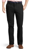 Izod Men's American Slim-Fit No-Iron Flat Front Chino Pants
