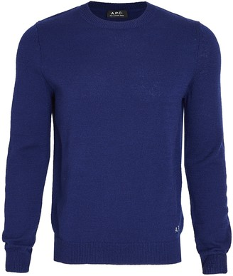 A.P.C. Long Sleeve Pullover Shirt