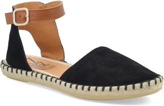 Miz Mooz Adjustable Ankle Strap Flat Espadrille s - Cleo