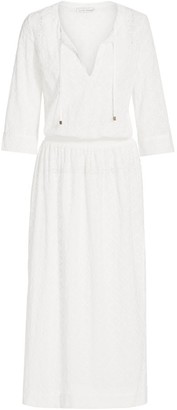 Heidi Klein Drop-Waist Beach Cover-Up Dress