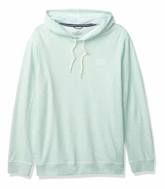 Vineyard Vines Men's Lightweight Saltwater Popover Hoodie