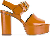 See by Chloe platform sandals - women - Leather - 39.5