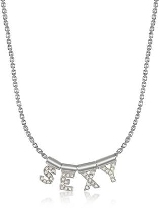 Nomination Sterling Silver and Swarovski Zirconia Sexy Necklace