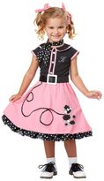 Fifties Poodle Cutie Costume - Toddler