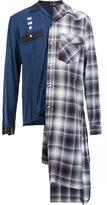 Miharayasuhiro asymmetric shirt - men - Cotton/Rayon - 48