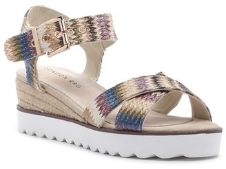 London Rag Carol Espadrille Wedge Sandal