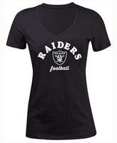 5th & Ocean Women's Oakland Raiders Checkdown LE T-Shirt