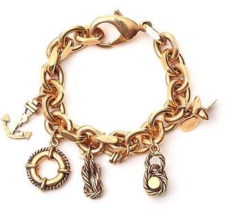 Saint Laurent Nautical Charm Bracelet