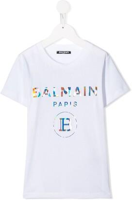 Balmain Kids logo T-shirt
