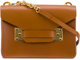 Sophie Hulme small chain satchel - women - Leather - One Size