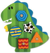 Stephen Joseph Dino Shaped Wooden Peg Puzzle
