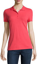 ST. JOHN'S BAY St. John's Bay Short-Sleeve Polo