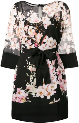 Twin-Set Floral Print Dress