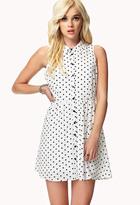 Forever 21 Polka Dot Shirt Dress