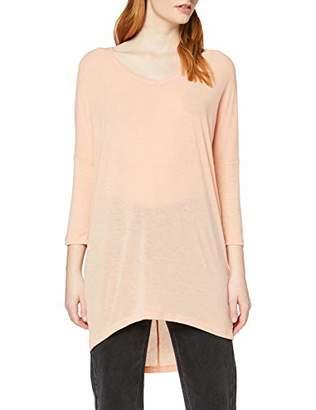 Vero Moda Women's 166952 V-Neck 3/4 Sleeve Longsleeve T - Shirt - Pink - 8