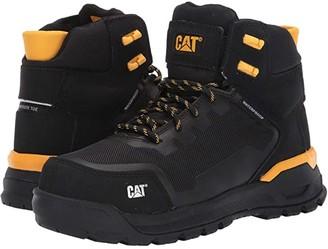 Caterpillar Propulsion Waterproof Composite Toe (Black Nubuck) Women's Work Boots