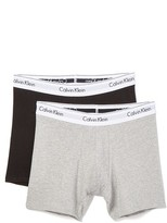 Calvin Klein Underwear CK 2 Pack Modern Cotton Stretch Boxer Briefs