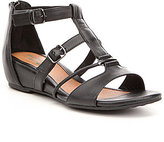 Montana Rylie T-Strap Leather Wedges