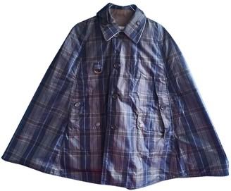 Henry Cotton Khaki Cotton Trench Coat for Women