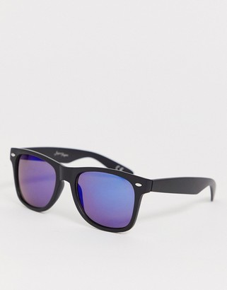 Jeepers Peepers matt square plastic frame