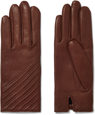 Rag & Bone Slant Leather Gloves