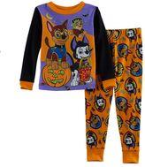Disney Toddler Boy Paw Patrol Halloween Glow in the Dark Top & Pants Pajama Set