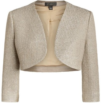 St. John Cropped Evening Jacket