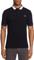 Fred Perry Block Tipped Pique Polo Shirt