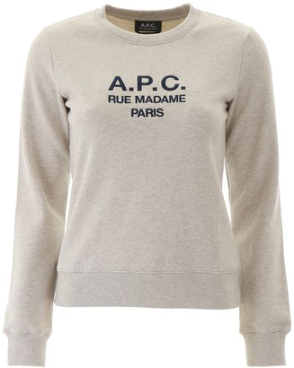 A.P.C. Logo Embroidered Sweatshirt